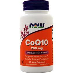 Now CoQ10 (200mg) 60 vcaps