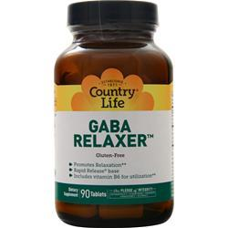 Country Life Gaba Relaxer 90 tabs