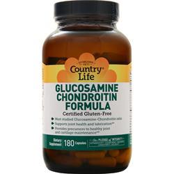Country Life Glucosamine Chondroitin 180 vcaps