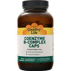 Country Life Coenzyme B-Complex 240 vcaps