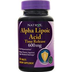 Natrol Alpha Lipoic Acid Time Release (600mg) 45 tabs