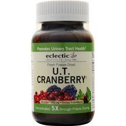 Eclectic Institute Fresh Freeze-Dried U.T. Cranberry 90 vcaps