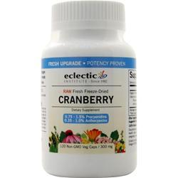 Eclectic Institute Fresh Freeze-Dried Cranberry (300mg) 120 vcaps