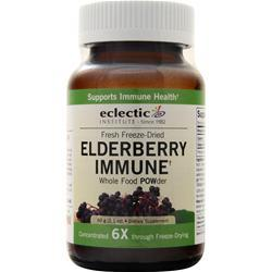 Eclectic Institute Fresh Freeze-Dried Elderberry Instant Immune POW-der 60 grams