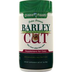 Green Foods Barley Cat 3 oz