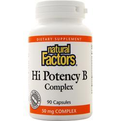 Natural Factors Hi Potency B Complex 90 caps