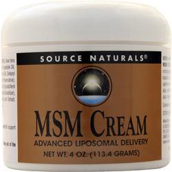 Source Naturals MSM Cream 4 oz