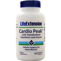 Life Extension Cardio Peak with Standardized Hawthorn and Arjuna 120 vcaps