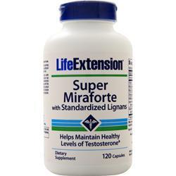 Life Extension Super Miraforte with Standardized Lignans 120 caps