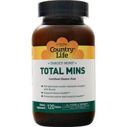 Country Life Target-Mins Total Mins 120 tabs