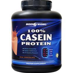BodyStrong 100% Casein Protein Milk Chocolate 5 lbs