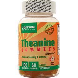 Jarrow Theanine 100 Apple BEST BY 2/18 60 gummy