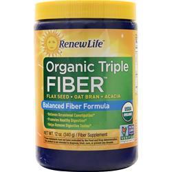 Renew Life Organic Triple Fiber 12 oz