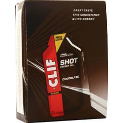 Clif Bar Clif Shot Chocolate 24 pckts