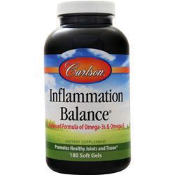 Carlson Inflammation Balance 180 sgels