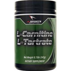 AI Sports Nutrition L-Carnitine L-Tartrate 300 grams