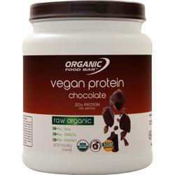 Organic Food Bar Vegan Protein Chocolate 380 grams