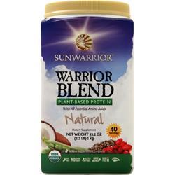 SunWarrior Warrior Blend - Raw Vegan Protein Natural 1 kg