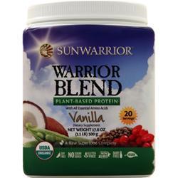 SunWarrior Warrior Blend - Raw Vegan Protein Vanilla 500 grams