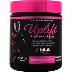 NLA For Her Uplift - Pre Workout Energy Raspberry Lemonade 300 grams