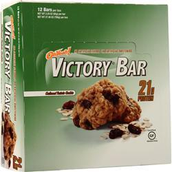 ISS Research Oh Yeah! Victory Bar Oatmeal Raisin 12 bars