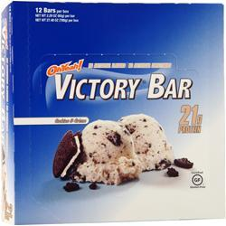 ISS Research Oh Yeah! Victory Bar Cookies & Creme 12 bars