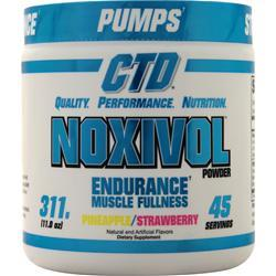 CTD Noxivol Powder Pineapple Strawberry 311 grams