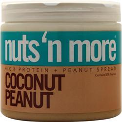 Nuts 'N More Peanut Spread Coconut Peanut 1 lbs