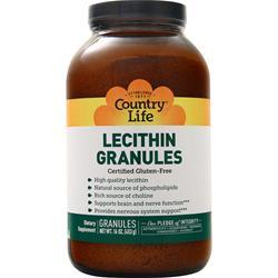 Country Life Lecithin Granules 16 oz