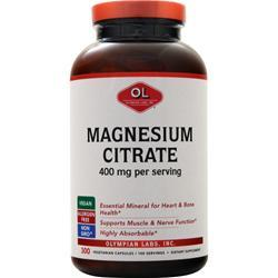 Olympian Labs Magnesium Citrate (133mg) 300 vcaps