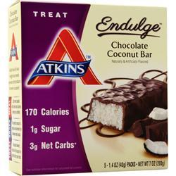 Atkins Endulge Bar Chocolate Coconut 5 bars