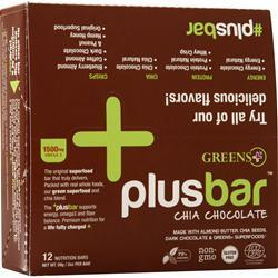 Greens Plus Omega 3 Chia Energy Bar Chocolate 12 bars