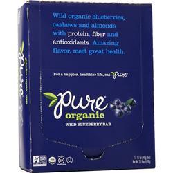 Promax Pure Organic Bar Wild Blueberry 12 bars