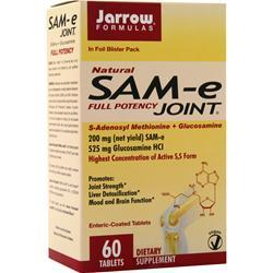 Jarrow Natural SAM-e Full Potency Joint 60 tabs