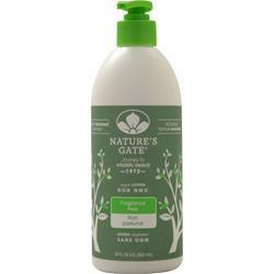 Nature's Gate Moisturizing Lotion Fragrance-Free 18 fl.oz