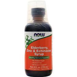 Now Elderberry, Zinc & Echinacea Syrup 4 fl.oz