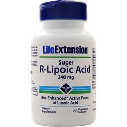 Life Extension Super R-Lipoic Acid 60 vcaps