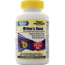 Super Nutrition Men's Blend 180 vcaps
