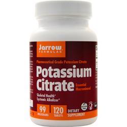 Jarrow Potassium Citrate (99mg) 120 tabs