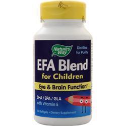 Nature's Way EFA Blend for Children 120 sgels