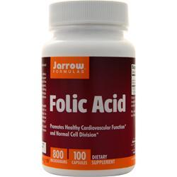 Jarrow Folic Acid (800mcg) 100 caps
