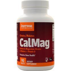 Jarrow CalMag Citrates/Malates 90 tabs