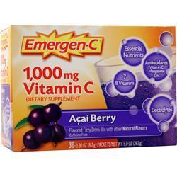 Alacer Emergen-C Acai Berry 30 pckts
