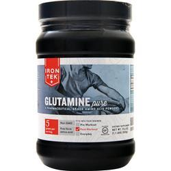 Iron-Tek Glutamine Powder - High Quality 1.1 lbs