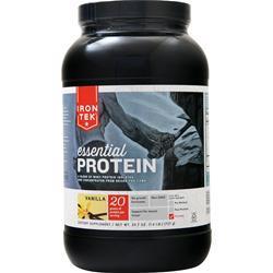 Iron-Tek Essential Natural High Protein Vanilla 1.57 lbs