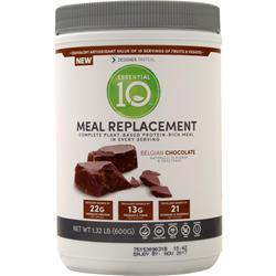 Designer Protein Essential 10 Meal - 100% Plant Based Protein Belgian Chocolate 540 grams