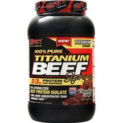 SAN 100% Pure Titanium Beef Supreme Chocolate Fudge 1.74 lbs