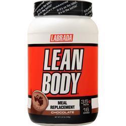 Labrada Lean Body Shake Chocolate 2.47 lbs