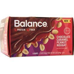 Balance Bar Balance Bar Chocolate Caramel Peanut 6 bars