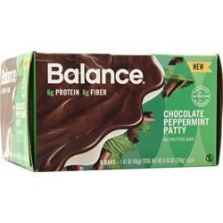 Balance Bar Balance Bar Chocolate Peppermint Patt 6 bars